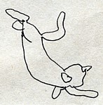 Blind Contour--cat