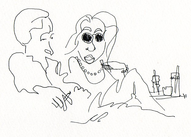 Contour Line Drawing Famous Artists : Famous blind contour drawings