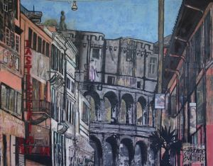 The Colosseum from Via di San Giovanni in Laterano Medium.jpg