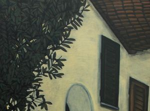 Yellow House in Cortona Detail 3.jpg